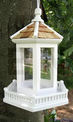 Architectual Bird Feeder  (Bandstand Feeder)