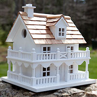 Image: Architectural Birdhouse (New England Dweller)
