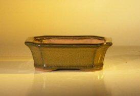 "Ceramic Bonsai Pot - Rectangle 6.0"" x 4.75"" x 2.0"""