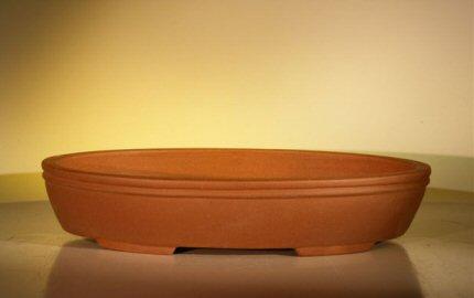 Ceramic Bonsai Pot - Oval