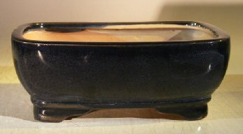 Ceramic Bonsai Pot - Oval 7.0