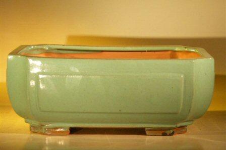 "Ceramic Bonsai Pot - Rectangle 12.0""x9.5""x4.75"""