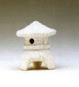 Image: Ceramic Pagoda Lantern - 3 x 3 x  2.75 tall