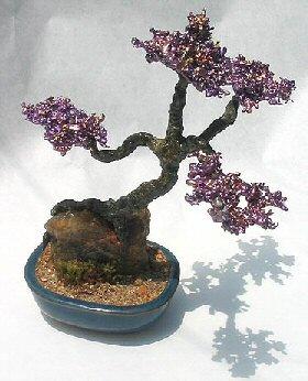 Root Over Rock Slanting Bonsai Stone