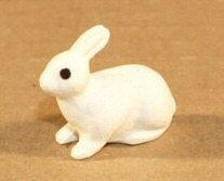 Ceramic Rabbit Figurine - 1.0