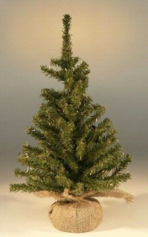 "Artificial Christmas Bonsai Tree-Undecorated-15"" Tall"