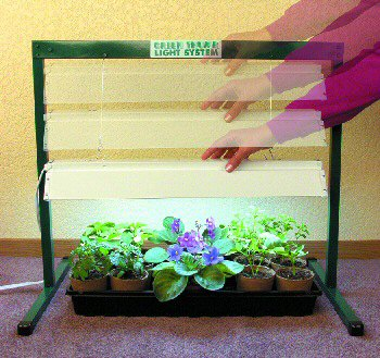 "Green Thumb 27"" Grow Light System Seed Starting, Seedling, Seedstarting Supplies, Gardening, Seed-Starting, Garden"