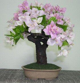 Artificial Flowering Bougainvillea Bonsai Tree