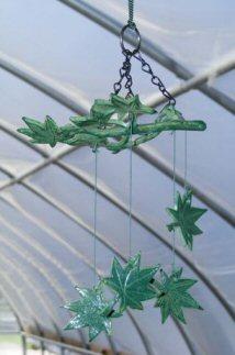 Image: Japanese Wind Chime Set  Maple Leaves