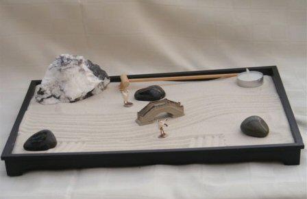 sand zen garden desk