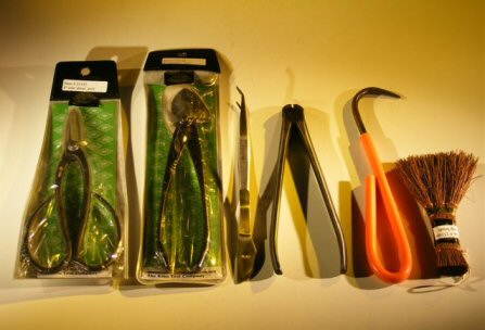 Professional Bonsai Tool Set 6 Piece Including Hemp Brush Save 25 95