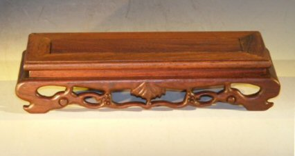 Image: Wooden Display Table - 9.25 x 3.75 x 2.0 tall