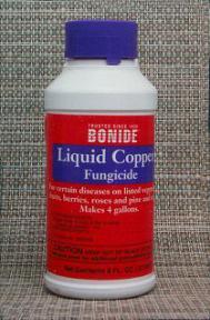 Liquid Copper Fungicide<br>8 oz.