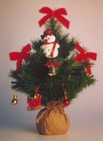 Christmas Bonsai Tree (Artificial) - 19