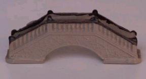 Ceramic Bridge Figurine <br>4