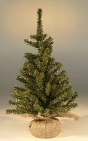 Artificial Christmas Bonsai Tree - Undecorated - 15