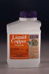 Liquid Copper Fungicide<br>16 oz. concentrate