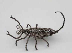 Wire Scorpion Figurine