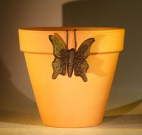 Cast Iron Hanging Garden Pot Decoration - Butterfly<br>3.25