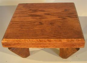 E3369. Wooden Display Table ...