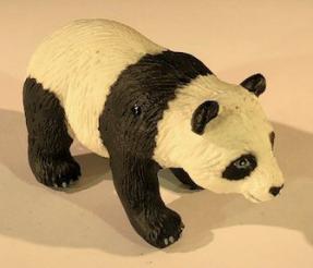 Miniature Panda Figurine - 1.5