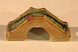 Miniature Ceramic Bridge Figurine <br>1