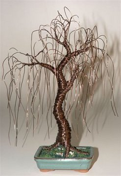 Bonsai Tree Sculpture 11 Quot X 15 Quot Weeping Willow
